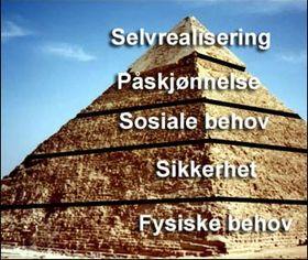 Ifølge Maslows behovspyramide er selvrealisering selve kronen på verket.