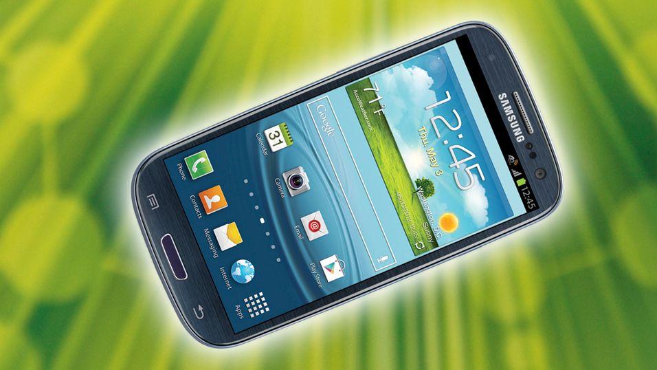 KONKURRANSE: Se hvem som vant Samsung Galaxy S III