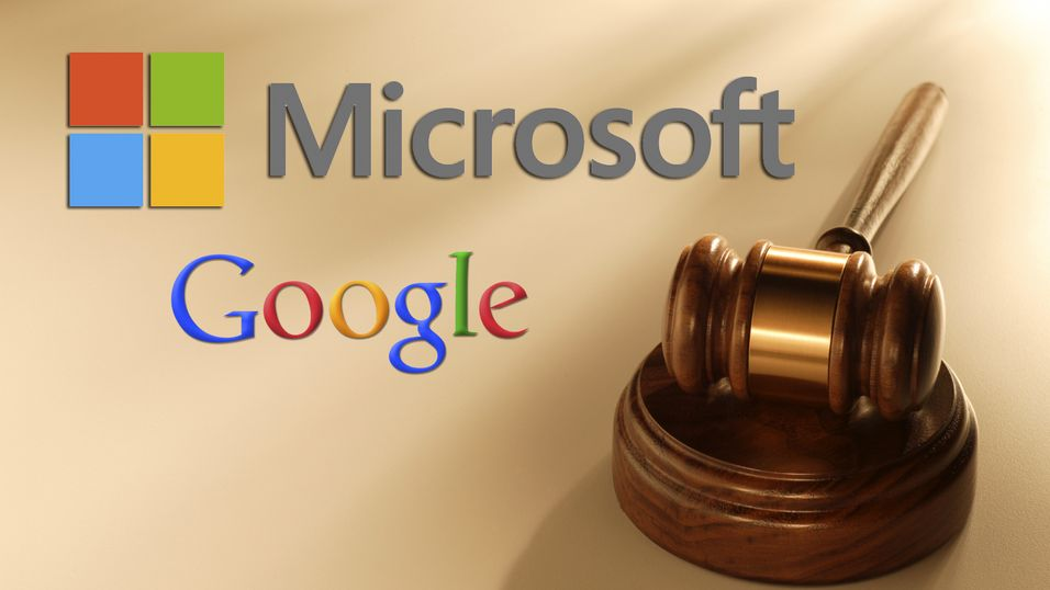 Microsoft seiret over Google