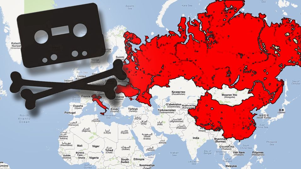 Amerikanerne peker på de verste piratlandene i verden. Overraskende nok havner blant annet Sveits på listen.
