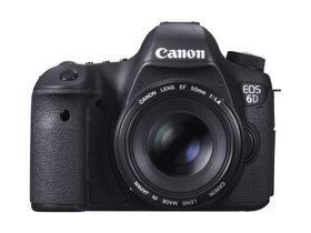Canon EOS 6D er blant kameraene som tilbyr innebygget wifi.