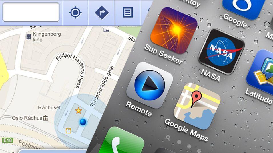 TIPS: Slik får du tilbake iPhone-kartene