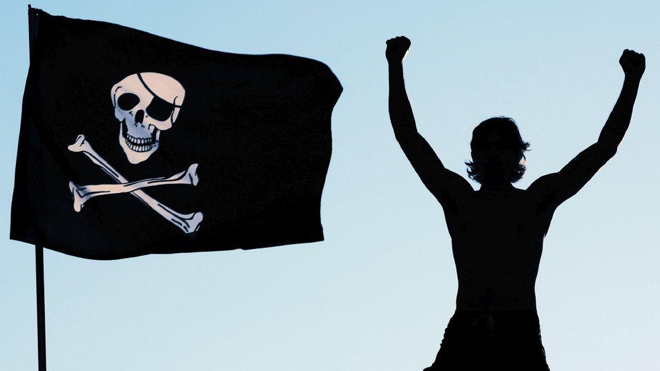 Piratene bruker mer på innhold enn vanlige folk