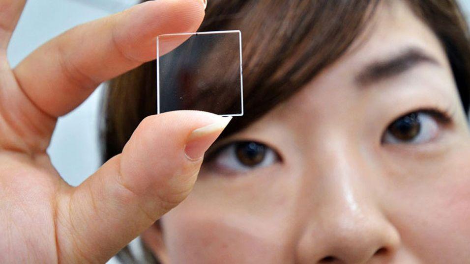 Lagrer data evig – i glass