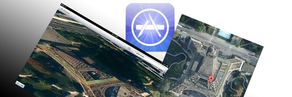 Full forvirring rundt Google Maps for iOS