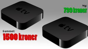 Gammel Apple TV – dobbel pris