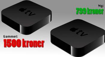 Gammel Apple TV – dobbel pris