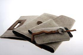 Cooler Master Elegance Collection. Fra venstre: Afrino Folio, Cormo Sleeve, Exmoor Folio og Dorset Pouch.