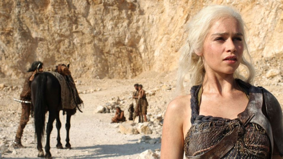«Daenerys» fra HBO-serien Game of Thrones.