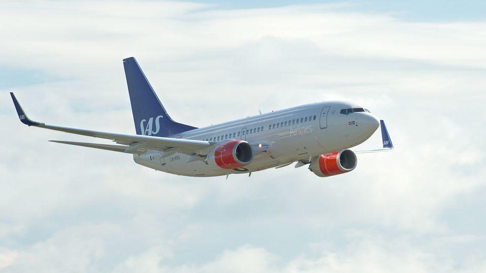 SAS åpner for mobilprat på fly