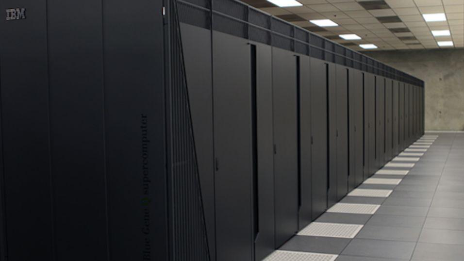 Superdatamaskinen Mira simulerer hele universet