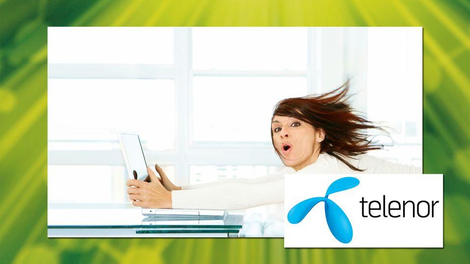 KONKURRANSE: Se om du vant mobilt bredbånd fra Telenor