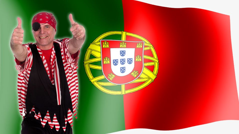 Portugisisk aktor mener at fildeling til privat bruk ikke er ulovlig.