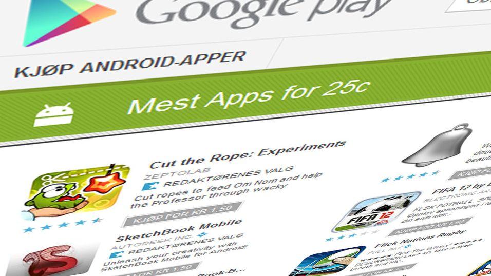 Supertilbud på Android-apper nå
