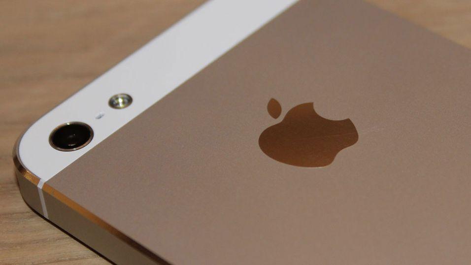 iPhone 5, et lite stykke Norge