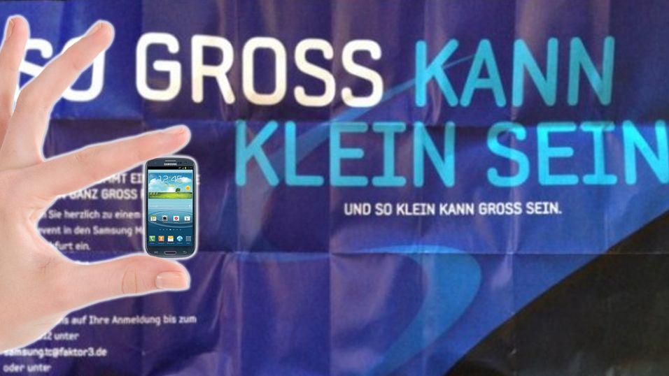 Galaxy S III Mini kan bli avduket om en uke