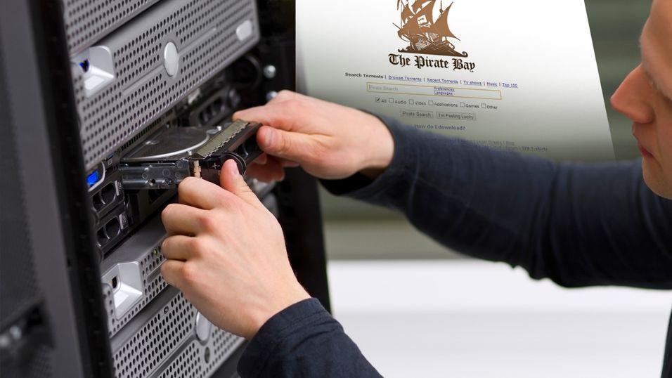 The Pirate Bay-serverne er i rufsevær om dagen...