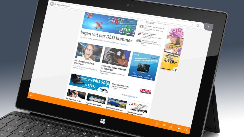 Nye Firefox vil se lekkert ut på nye berøringsskjermer.