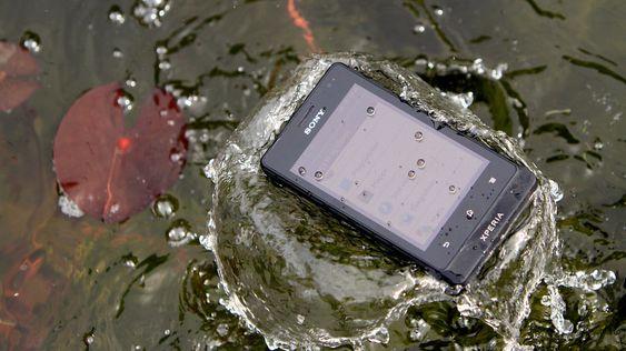 Sony Xperia Go.