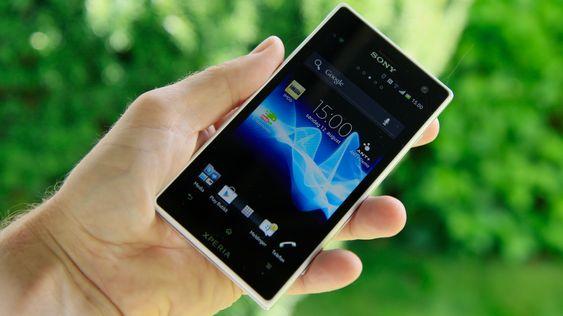 Sony Xperia Acro S.