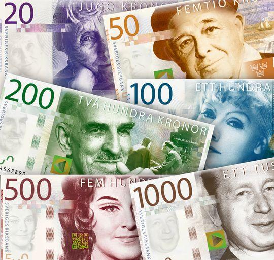 Her er de nye sedlene slik Riksbanken presenterte tidligere i vår.