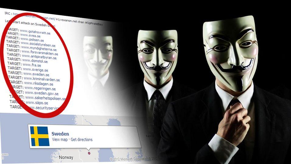 Anonymous har lagt ut en liste over potensielle mål for dagens angrep.