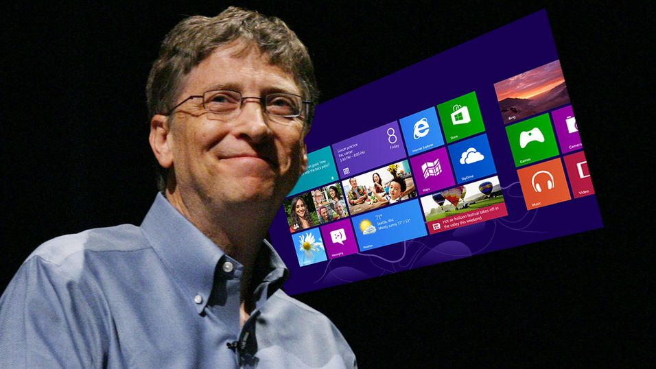 Dette syns Bill Gates om Windows 8