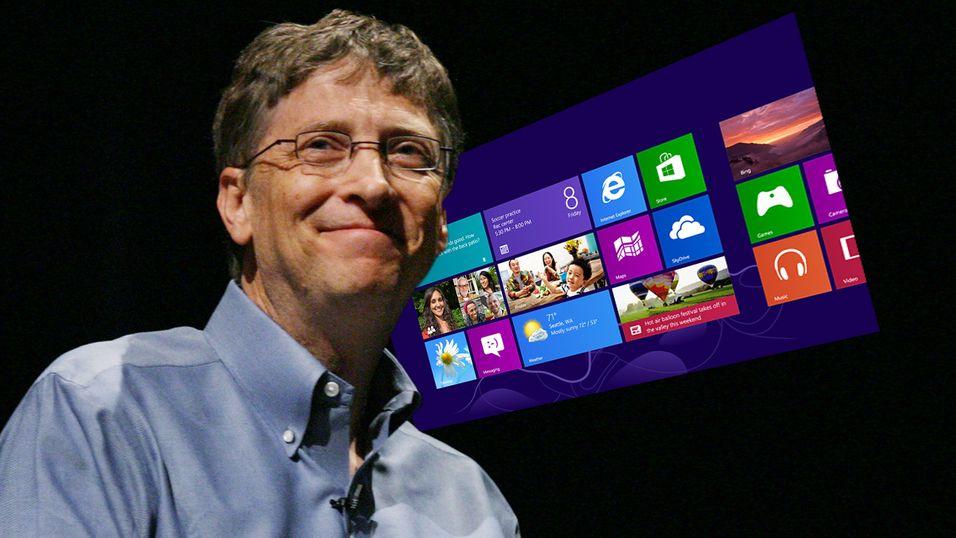 Bill Gates ved en tidligere anledning.