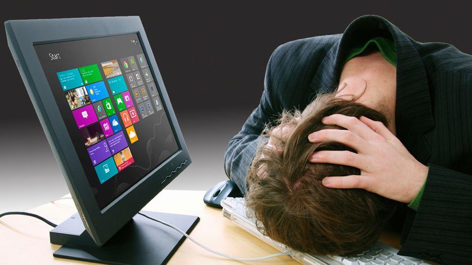 GUIDE: 5 gode grunner til å  ikke  kjøpe Windows 8