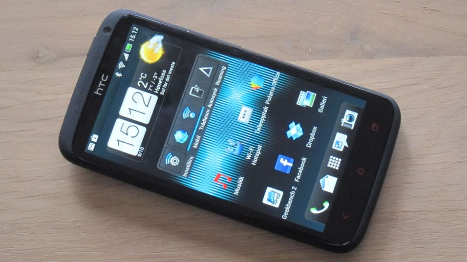 TEST: HTC One X+