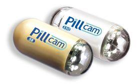En prototyp på pillekameraet.
