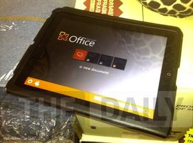Dette bildet av Office for iPad kan vise seg å være ekte likevel.