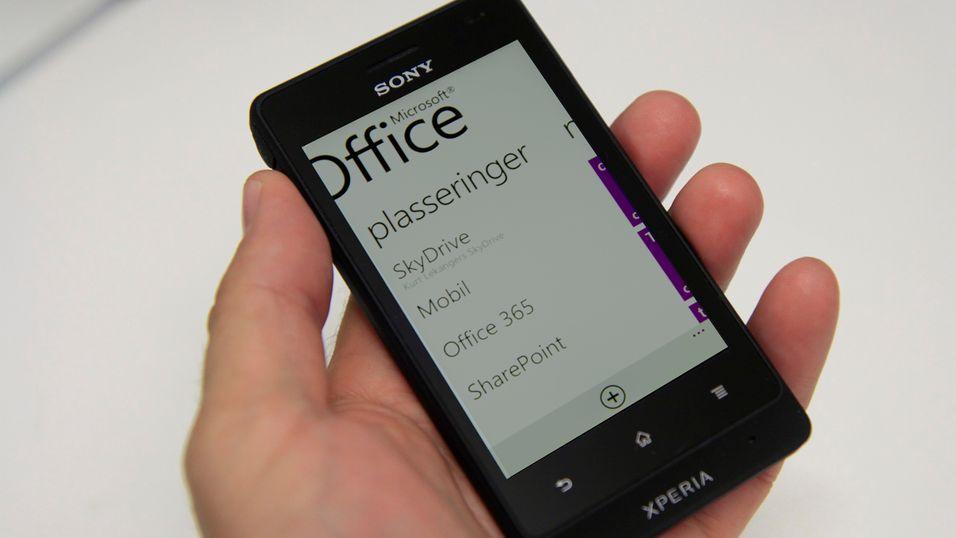 Office-appen kan snart bli tilgjengelig også på Android og iOS. (Bildet er manipulert)