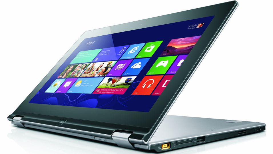 Lenovo varmer opp til Windows 8
