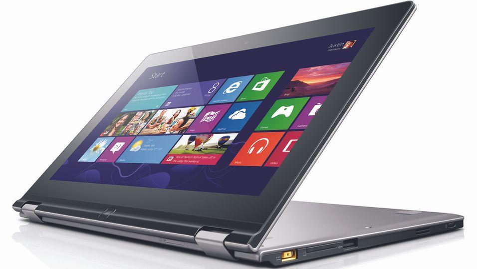 Nå kommer fleksible Windows 8-laptoper
