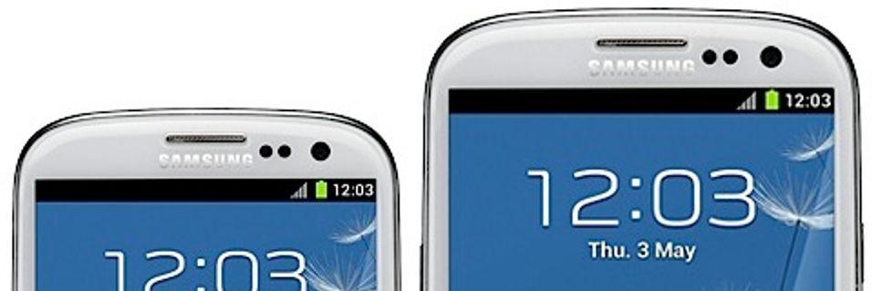 Samsung med ny Galaxy SIII i dag