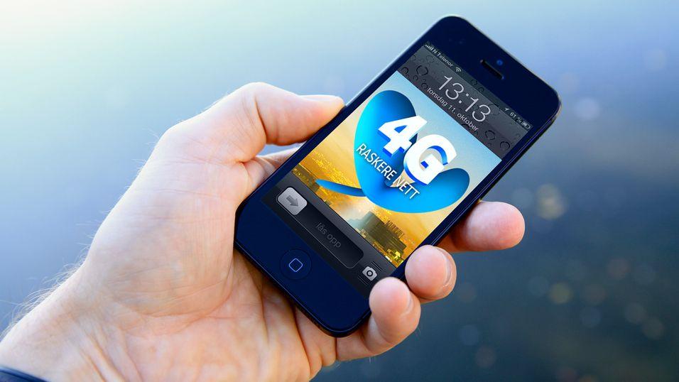4G-bruken øker kraftig blant NetCom-kundene.
