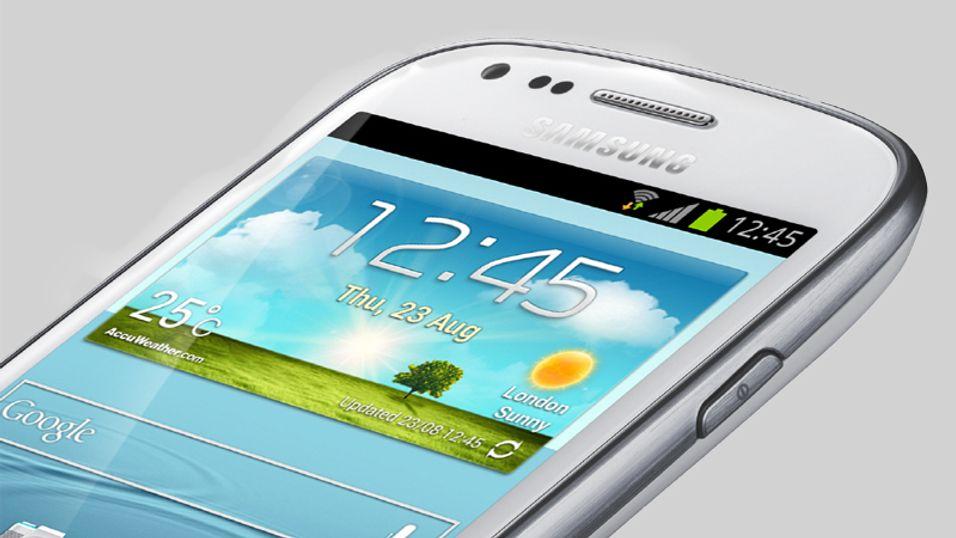 Lanserte miniversjon av Samsung Galaxy S III