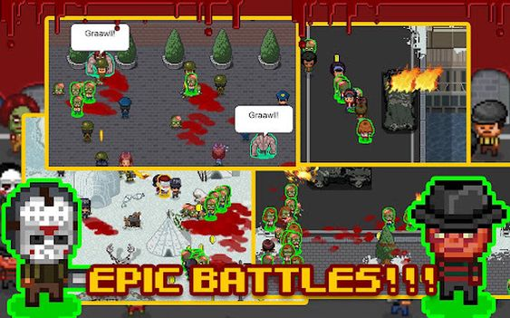 Zombieapokalypse i kjent stil.