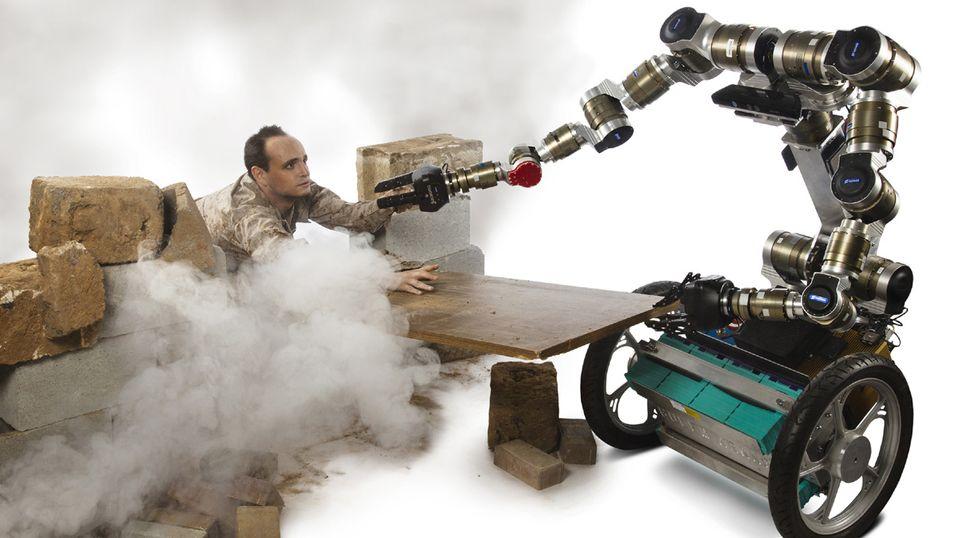 En slik robot blir mildt sagt hjelpsom.
