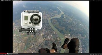GoPro-kamera overlevde fall fra fly