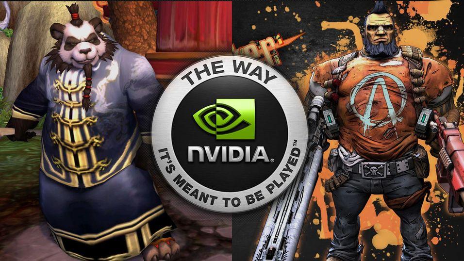 Nvidias nye skjermkortdriver gir bedre ytelse i World of Warcraft: Mists of Pandaria og Borderlands 2.