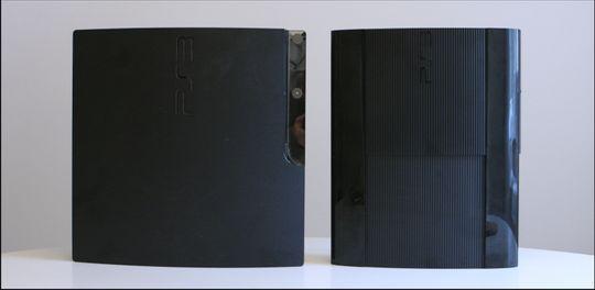 Den nye Playstation 3 Slim er 25 prosent mindre enn den forrige Slim-utgaven.