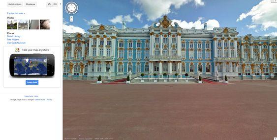 Katarinapalasset i Russland.