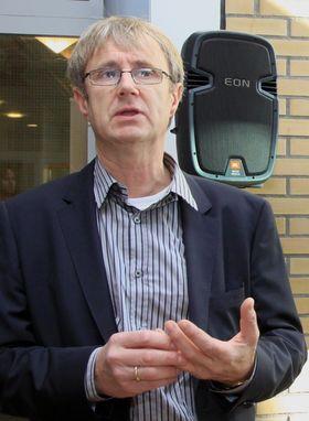Dekningsdirektør Bjørn Amundsen i Telenor.