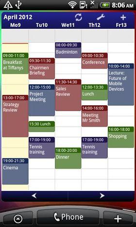 Business Calendar til Android.