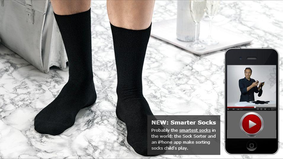 Klarer du ikke å sortere sokkene dine? Da skal denne appen være til hjelp.