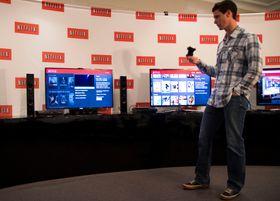 Før vi intervjuet Netflix-toppene fikk vi en rask gjennomgang av Netflix-appene på de ulike spillkonsollene.