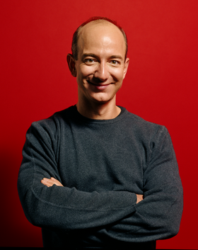 Amazon-grunnlegger Jeff Bezos.
