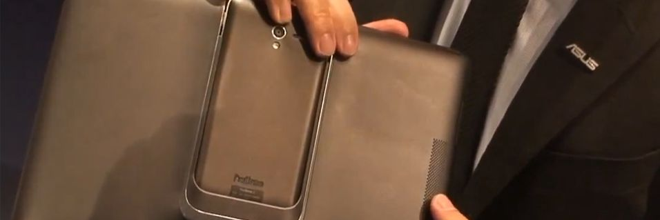 Se video av nye Asus PadFone 2 i bruk